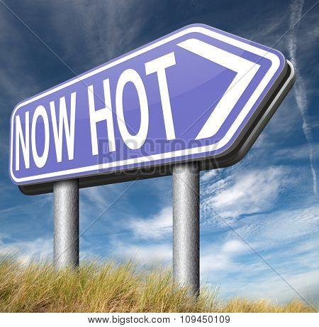 now trending new hot trend