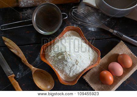 Kitchenware and food