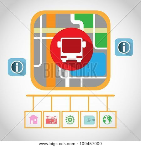 Bus Gps Navigation Map