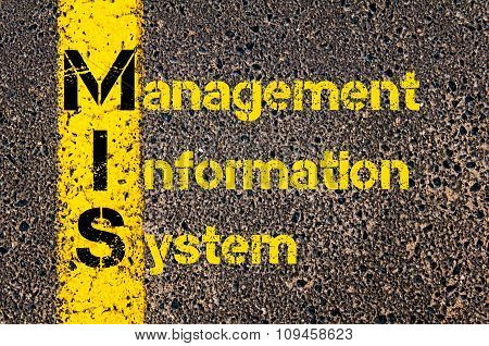 Business Acronym Mis As Management Information System