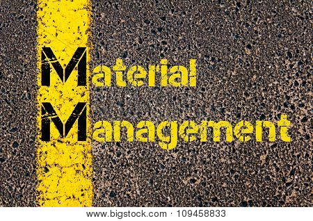 Business Acronym Mm As Material Management