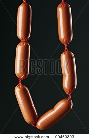 chain of sausages