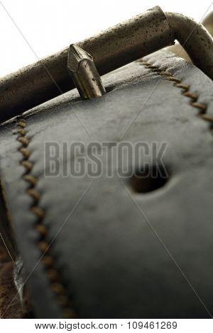 leather belt-detail