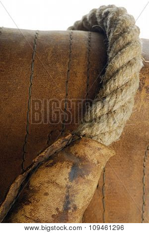 leather and a whip-detail