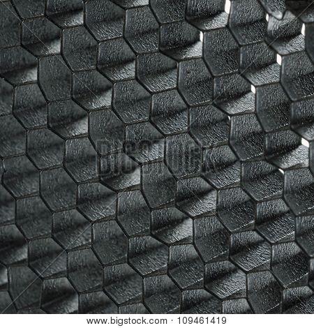 strobe grid-closeup
