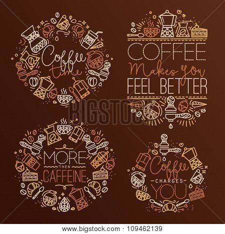 Coffee Monograms