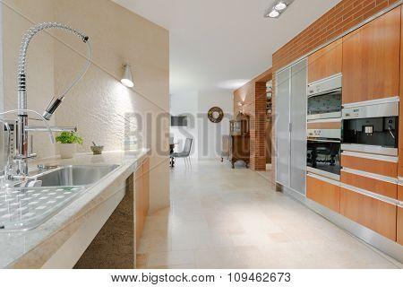 Minimalistic Design Contemporary Kitchen