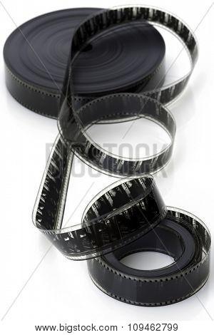film reel on white