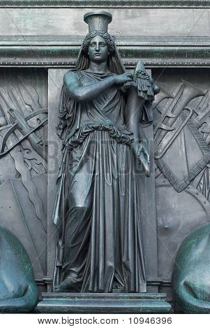 Figure On The Monument Of Maximilian Joseph
