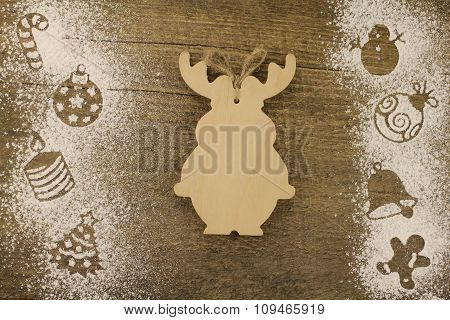 Stencil Christmas Decorations