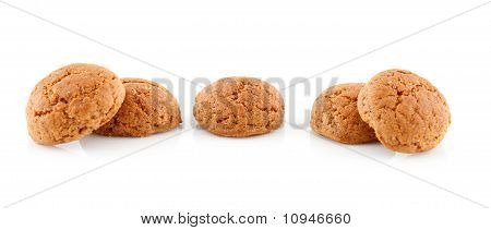 Couple Of Pepernoten (ginger Nuts)