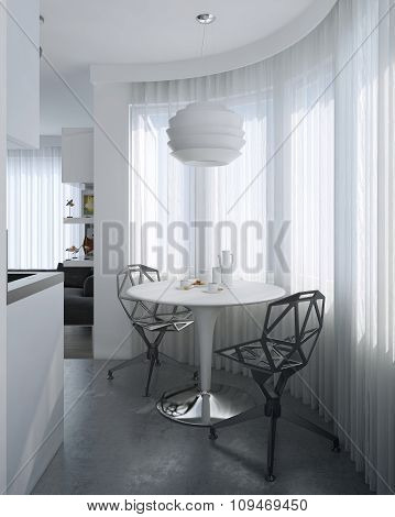 Dining Room Contemporary Style