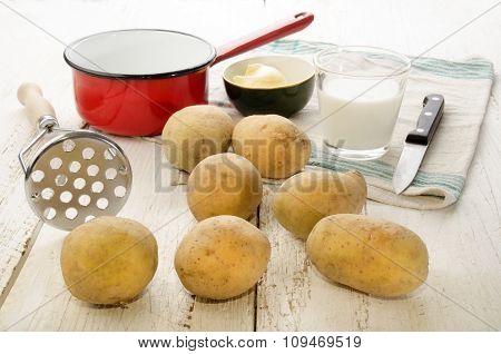 Ingredients To Make Mashed Potatoes