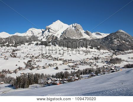Onset Of Winter In Toggenburg