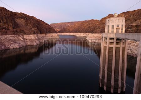 Lake Mead The Colorado River Hoover Dam Nevada Arizona