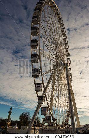 The Big Wheel On The Place De La Concorde.
