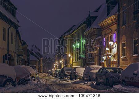 Snowbound Street