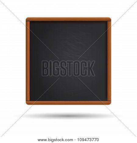 Blank blackboard illustration