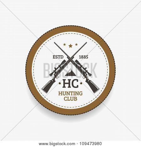 Emblem hunting club