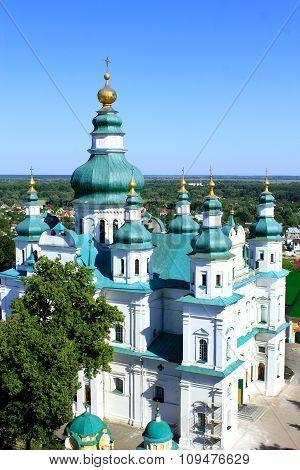 Troitskyi monastery in Chernihiv