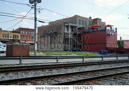 Downtown Across the Tracks