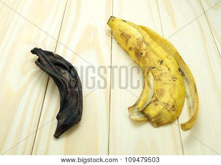 Dried Banana Peels