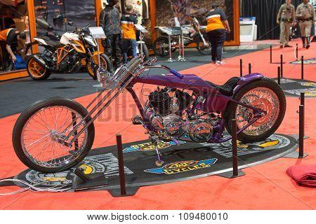Custom Bike On Display