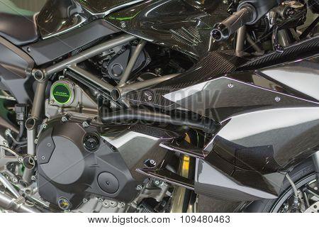 Kawasaki Ninja H2R 2016 Derail