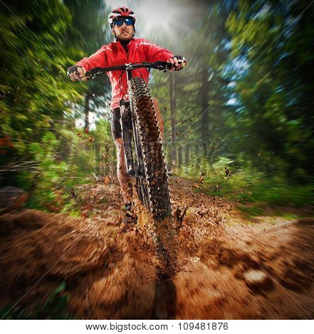 Extreme cyclist