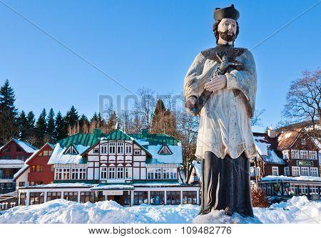 Ski Resort Spindleruv Mlyn, Krkonose (giant) Mountains, Czech Republic