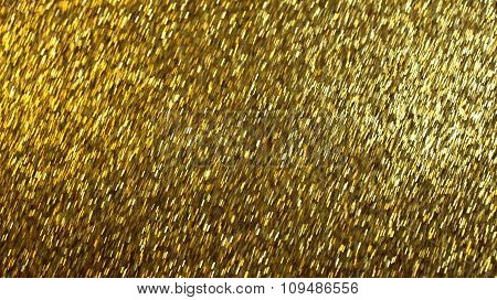 Abstract Background Golden Glittery Panel