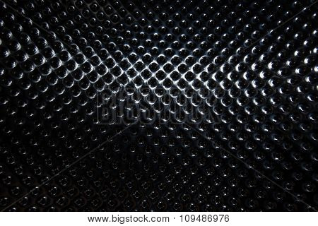 Silver Steel Metallic Hole Texture Background