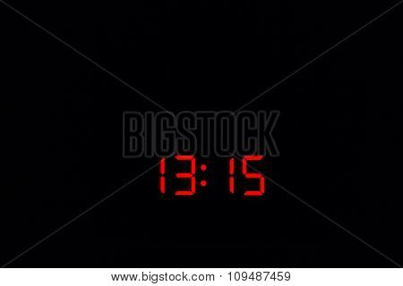 Digital Watch 13:15