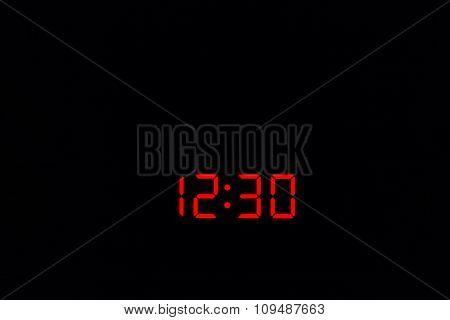 Digital Watch 12:30