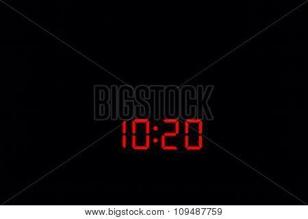 Digital Watch 10:20