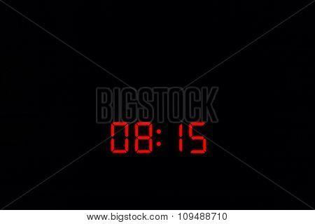 Digital Watch 08:15