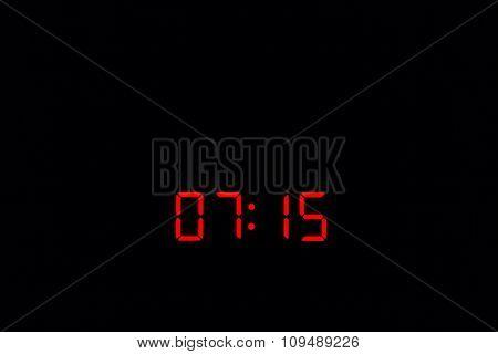 Digital Watch 07:15