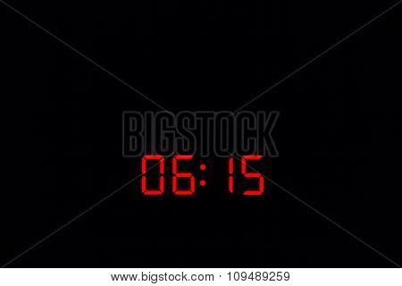 Digital Watch 06:15