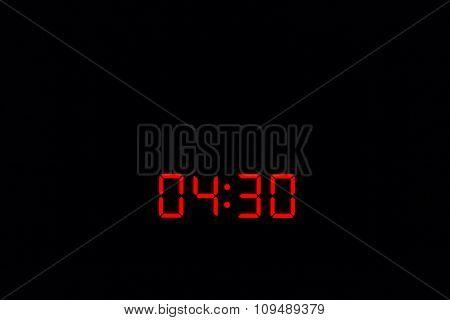 Digital Watch 04:30