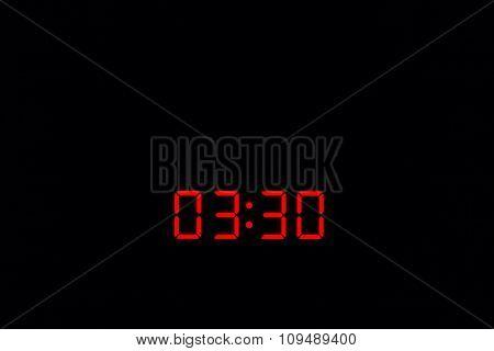 Digital Watch 03:30