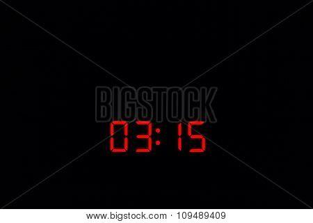 Digital Watch 03:15