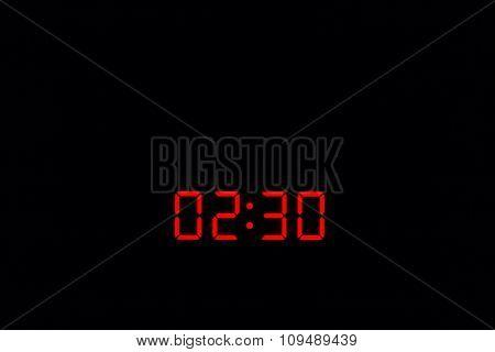 Digital Watch 02:30