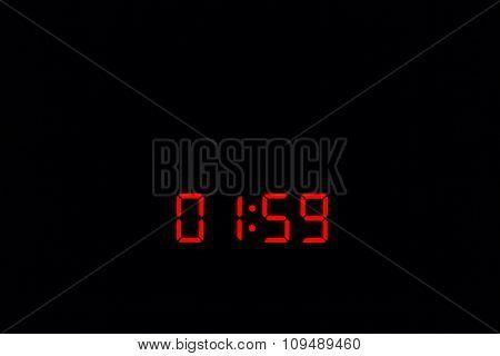 Digital Watch 01:59