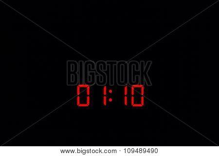 Digital Watch 01:10