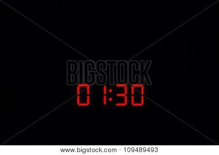 Digital Watch 01:30