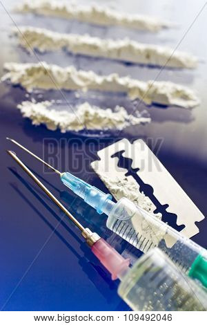 Narcotics Abuse - Cocaine Drug Use
