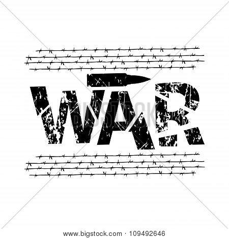 illustration inscription War