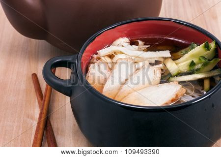Soup Dish With Meat
