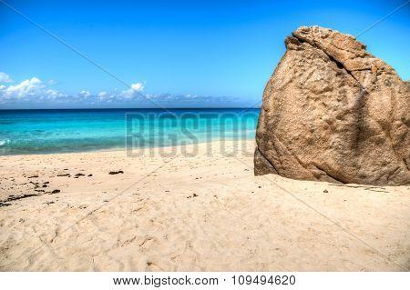 Anse Intendance beach on Mahe island, Seychelles