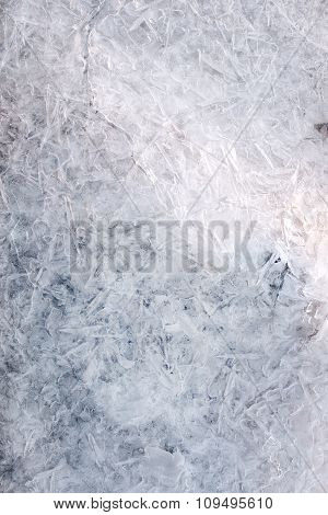 Frost Abstract Background